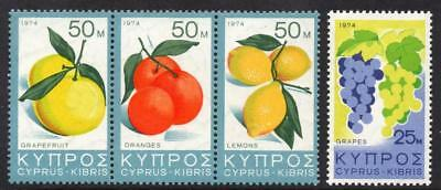 Cyprus MNH 1974 SG419-22 Products of Cyprus