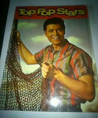 Vintage Top Pop Stars Annual 1962 - Good Condition
