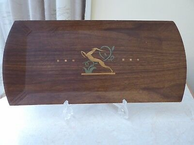 "Tray Art Deco ?  Hasko brand made in Chicago.  16"" X 8"""