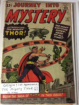 journey into mystery 83 (1st Thor App)