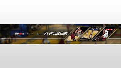 Professional Youtube Banner - Intro/Outro - Thumbnails