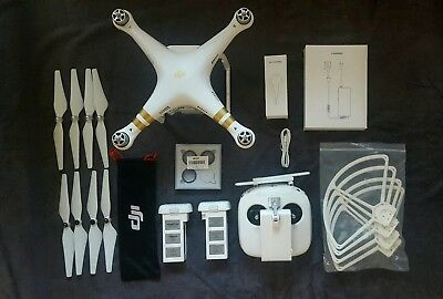 DJI Phantom 3 Professional Little Used Two Batteries Boxed plus Extras