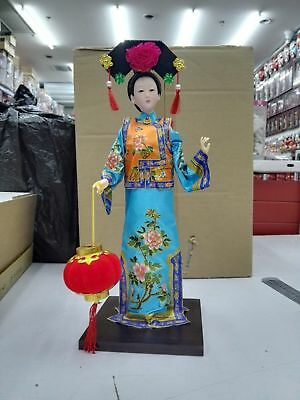 Details about  Oriental Broider Doll,Old figurine china Dynasty princess dolls