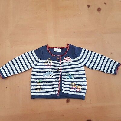 NEXT Baby Girl's Woodlands Range Cardigan Size 0 - 3 Months