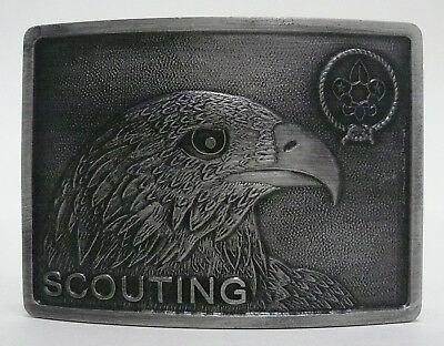 Scouts Of Japan (Saj) - Nippon Scouting (Eagle) Official Scout Buckle ~ Mint