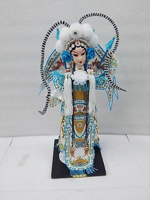 Oriental-Broider-Doll-Chinese-Old-style-figurine-doll-girl-statue-MuGuiYIN