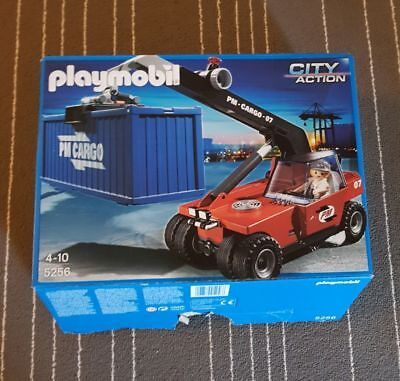 Playmobil City Action Großer Containerstapler (5256)