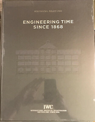 IWC Historical Selection–Engineering Time Since 1868 (D) ISBN 978-3-9523898-0-5