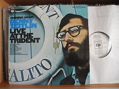 """Denny Zeitlin Trio """"Live At The Trident"""" CBS Record S 62 790"""