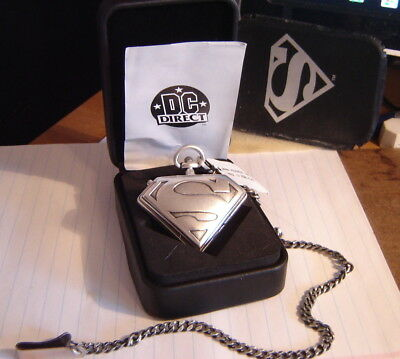 Superman Pocket Watch - DC Direct - Fossil