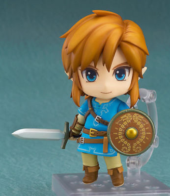 Nendoroid 733 The Legend of Zelda Link Breath of the Wild Ver. Figure New In Box