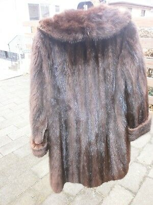 Mink Fur Coat Vintage Preowned A Few Issues Great Deal
