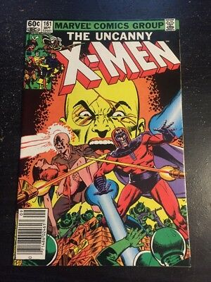 Uncanny X-men#161 Incredible Condition 9.2(1982) Magneto, Professor X Origin!!