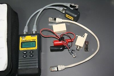 IDEAL Link Master Pro cable tester