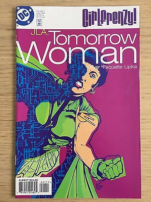 Girl Frenzy: JLA (Justice League of America) – Tomorrow Woman NM