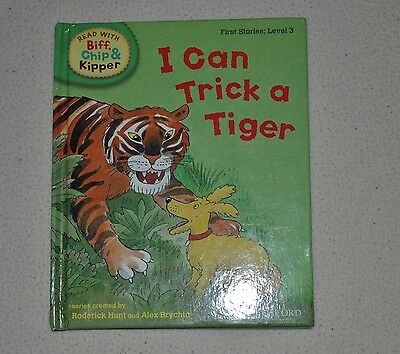 Read With Biff,Chip & Kipper - I Can Trick A Tiger