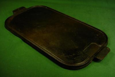 "Large 17"" Vintage Wagner Ware Cast Iron Utility Griddle 1148"