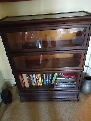 Antique Lawyers Bookcase Stacking Barrister