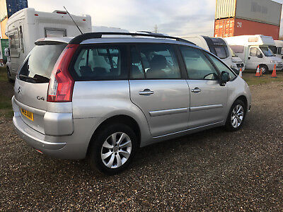 2010 Citroen C4 Grand Picasso Silver 7 Seater Automatic Diesel Salvage Damaged