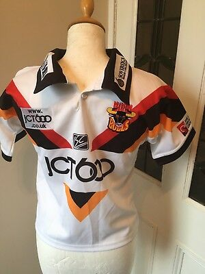 New without Tags Bradford Bulls Women's Rugby League Football Shirt Size 8