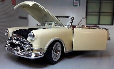 1:24 Scale 1953 Packard Caribbean Convertible Welly Diecast Model Car Open Top