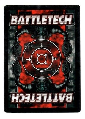 Chandrasekhar Kurita Battletech CCG TCG Rare Unique Counterstrike Karte Mint