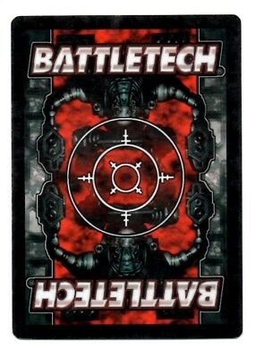Vulture B Mad Dog Battletech CCG TCG Rare Unlimited Edition Karte Mint