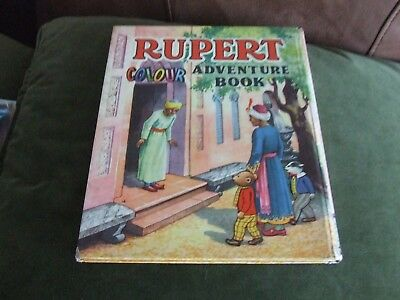 VERY NICE VINTAGE ORIGINAL 1955  collectors RUPERT BEAR ANNUAL