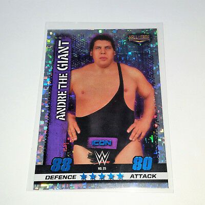 TOPPS SLAM ATTAX 10th ICONS #25 ANDRE THE GIANT WWE