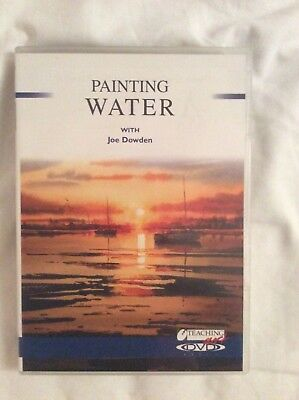 DVD Painting Water with Joe Dowden
