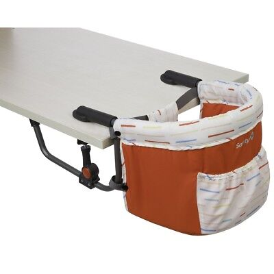 S#Trona Silla Bebé Ajustable a la Mesa Safety 1st Smart Lunch Red lines 27282600