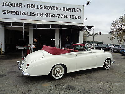 1961 Rolls-Royce Other CONVERTIBLE ROLLS ROYCE SILVER CLOUD II CONVERTIBLE HARD TO FIND ANOTHER, ONE YEAR WARRANTY