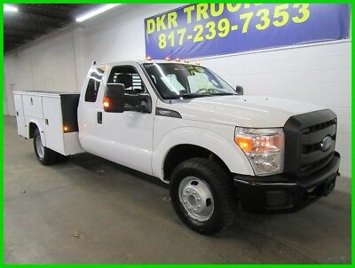 2015 Ford F-350 Utiilty Bed X Cab DRW F350 2015 Ford F-350 X Cab DRW V8 Service Contractor Utility Bed