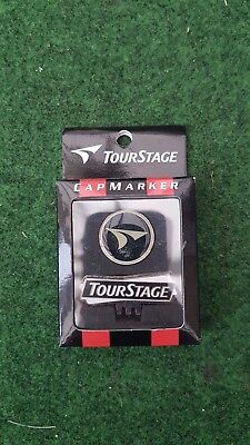 New Magnetic Tour Stage Hat Cap Visor Clip and Ball Marker Set
