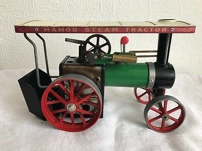 Vintage Mamod Steam Engine Tractor TE1A