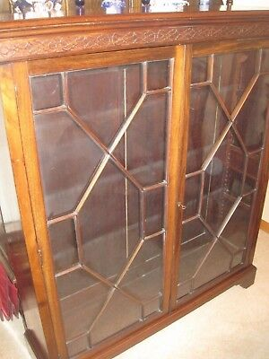 Antique Mahogany Bookcase (1920's)