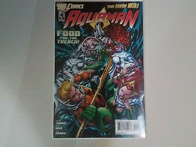 AQUAMAN 2012 Issue 4 1ST APPEARANCE Others OCEAN MASTER 1ST NEW 52 Free Shipping