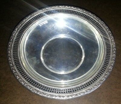 Sterling Silver Bowl 393 - Frank M Whiting Talisman Rose