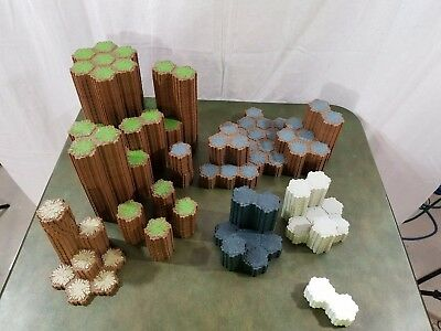 Heroscape Tile Lot 735 Hex Assorted Terrains