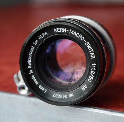 EXTRA CLEAR KERN MACRO SWITAR AR 50mm F/1.8 ALPA LENS Fits 9d 10d 11si BODIES
