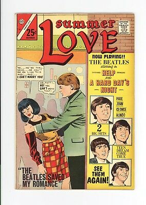 Summer Love #47 - High Grade - Beatles Cover - Very Scarce Giant Issue -1966