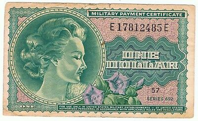 US Military Payment Certificate Series 692 1 Dollar