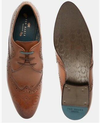 Ted Baker Vineey Brogues / Shoes Brown Size 13 Brand New No Box