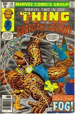 Marvel Two-In-One #69 (Thing/guardians Of The Galaxy) Fine Fantastic Four