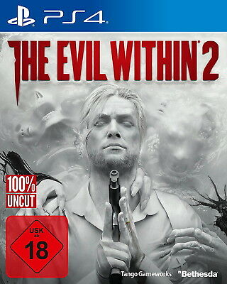 Playstation 4 Spiel The Evil Within 2 | PS4 | NEU & OVP | UNCUT | USK-Version