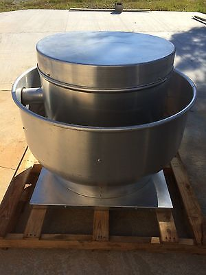 Roof Top Exhaust Fan Commercial Kitchen, 3ph, 2hp