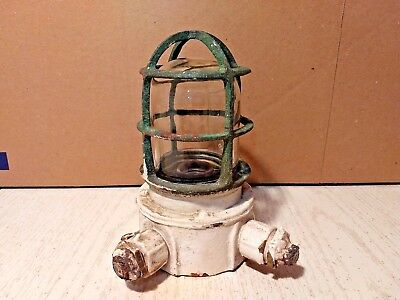 Vintage Russell And Stoll Explosion Proof Light