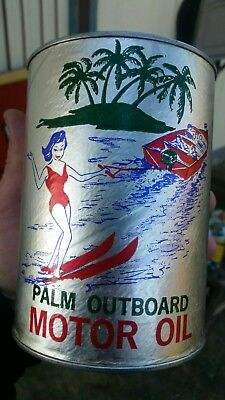 Palm outboard oil graphic quart can South Carolina