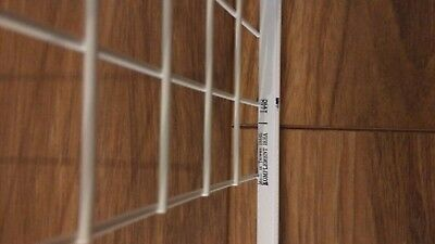 IKEA KOMPLEMENT white mesh basket & pull-out rail (50x58cm) for PAX Wardrobe