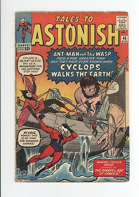 Tales To Astonish #46 - Early Ant-Man! - Jack Kirby Cover - Ditko Art! 1963